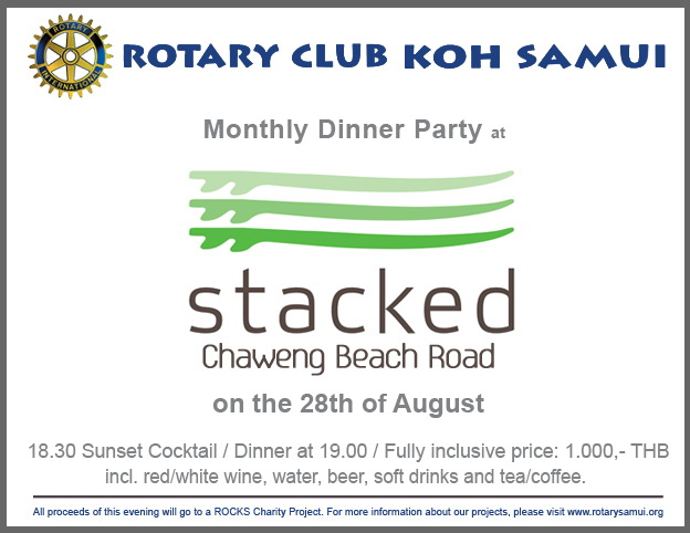 rotary dinner at stacked 1