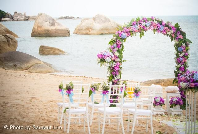 Romantic Wedding Venue: Royal Beach Boutique Resort & Spa, Koh Samui | Samui Times