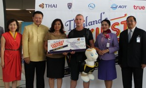 21 millionth visitor to Thailand