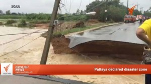 Pattaya declared a disaster zone