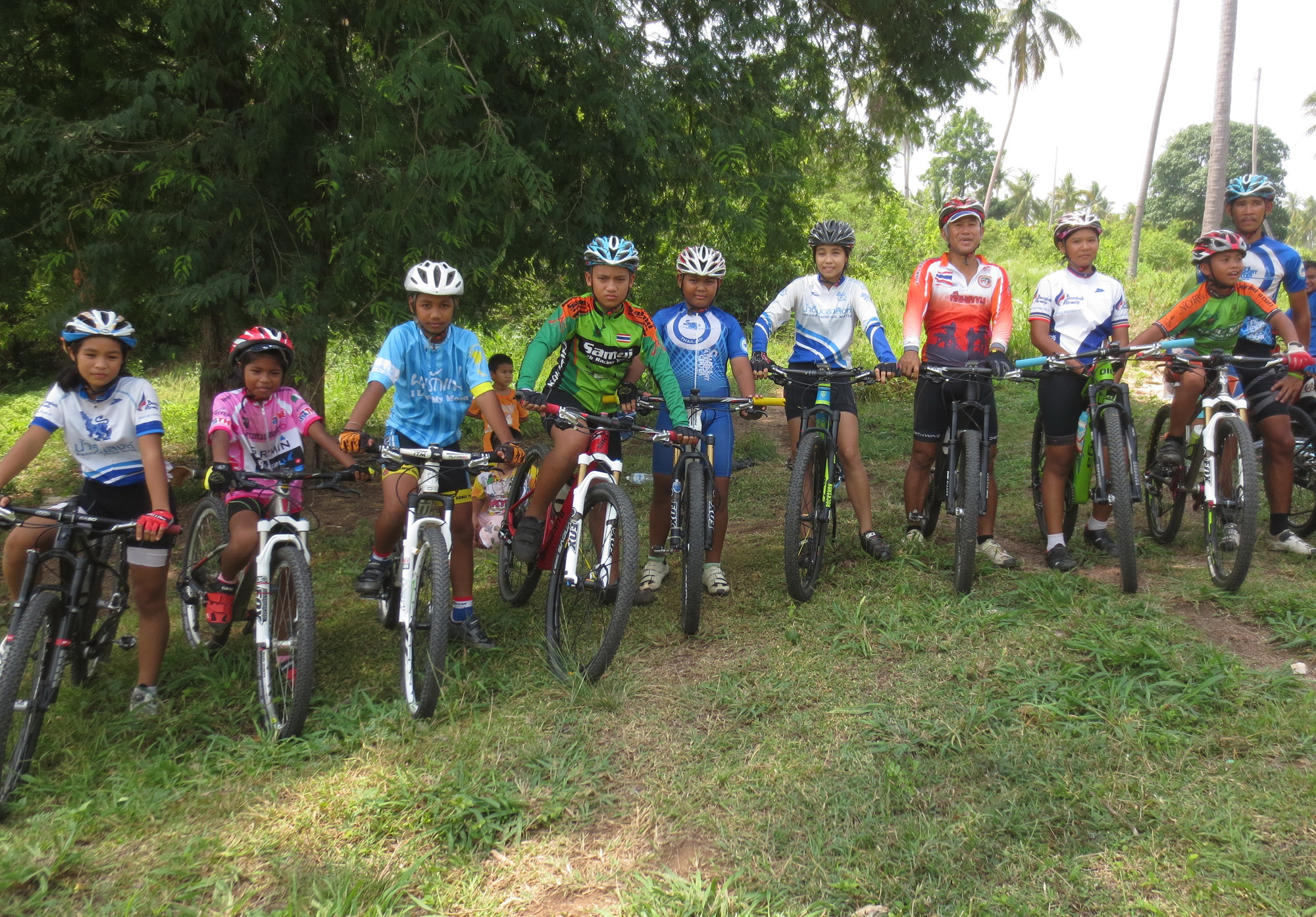 Samui MTB Racing Team' with three national champions | Samui Times