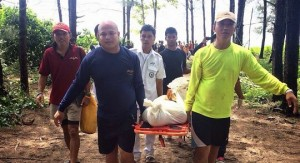 dead mans body recovered from the sea in Phuket