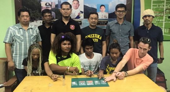 Scotsman among five arrested in drugs sweep | Samui Times