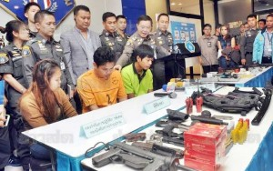 illegal guns Thailand