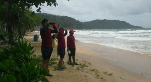 man swept out to sea in Phuket