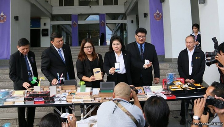 10 million baht of fake brandname smart phones and accessories seized | Samui Times