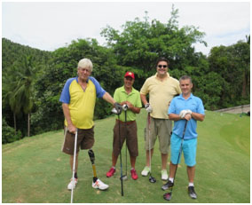 charity golf day Samui 2