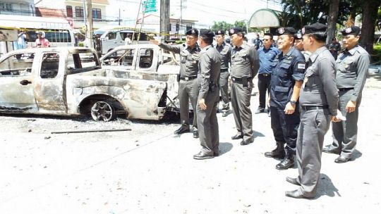Police chase victims' families to get at least B100,000 compensation as riot investigation continues | Samui Times