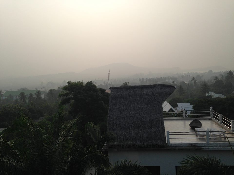 Face masks handed out in Southern Thailand due to haze | Samui Times