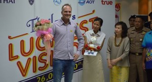 26th millionth visitor to Phuket