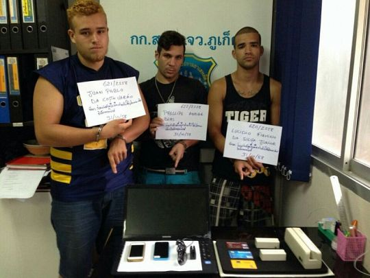 Stolen Koh Tao Ipad GPS signal leads Phuket police to electronic card skimmer suspects from Brazil, France | Samui Times