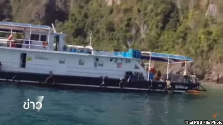 Try dive boats leave Phi-Phi islands after they were warned | Samui Times