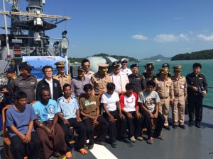 Fisherman rescue Phuket