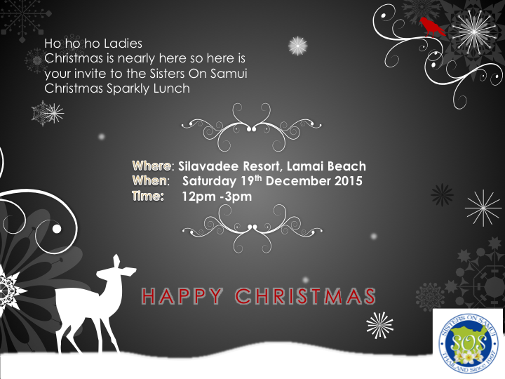 Start your Christmas early with the SOS Christmas Lunch | Samui Times