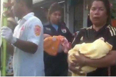 Samui rescue proudly deliver twins in a car in Maenam | Samui Times