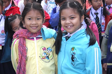 Bangkok schools cope with cold conditions | Samui Times