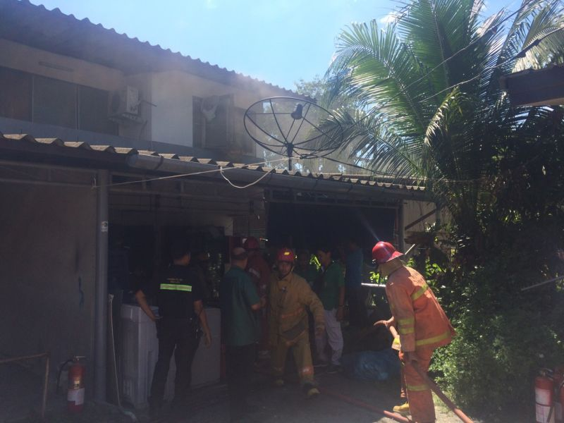 Fire at professor's home being investigated by Phuket authorities | Samui Times
