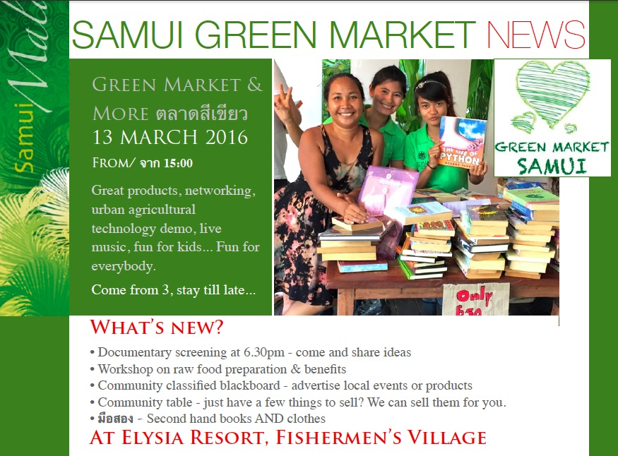 13th March Green Market
