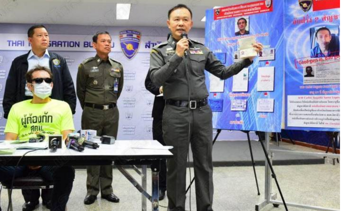 Brazilian man arrested in Bangkok for cheque fraud | Samui Times