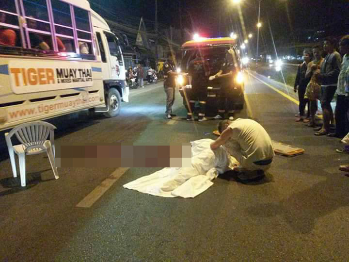 Polish woman dead after being run over while trying to cross street in south Phuket | Samui Times