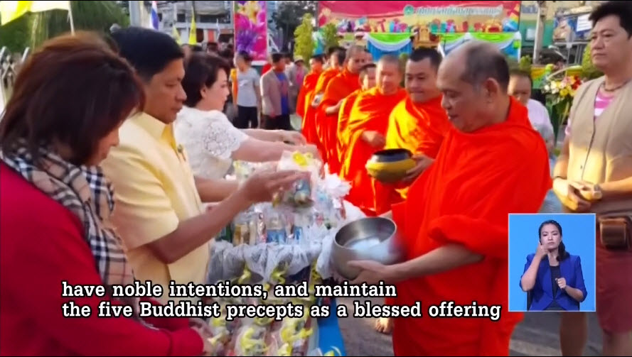 PM urges Buddhists to refrain from vices on Makha Bucha Day | Samui Times