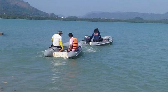 Two men dead, one missing after canoe capsizes during Phuket fishing trip | Samui Times