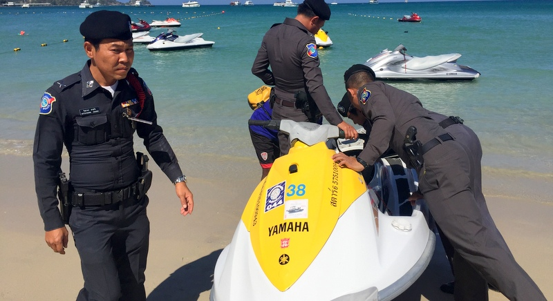 Catch and release: Patong illegal jet-ski operators fined and set free | Samui Times