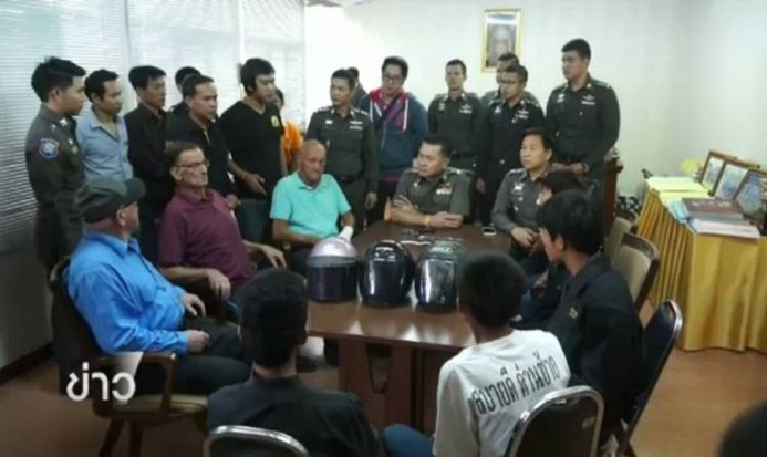 5 youths who copy a robbery scene from VDO game are arrested | Samui Times