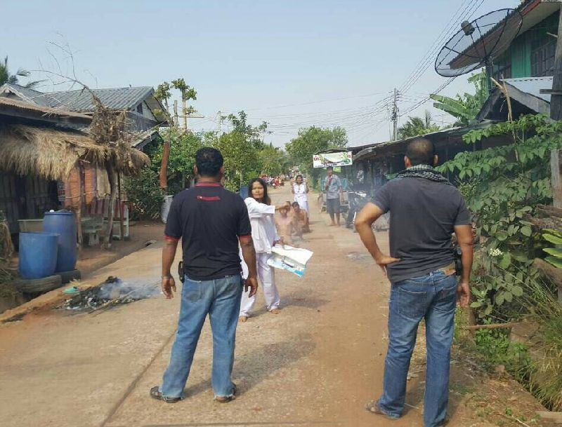 'Possessed by Ghosts,' Villagers Force Neighbors to Strip | Samui Times