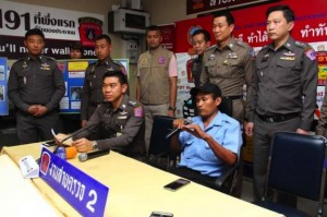 taxi driver arrested in Bangkok