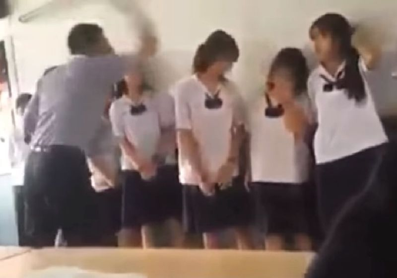 Math Teacher Under Investigation for Slapping Schoolgirls | Samui Times