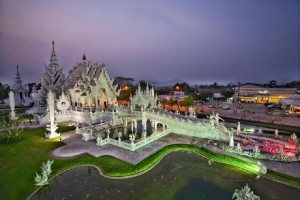 white temple charges foreigners