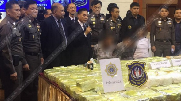 Six billion baht haul of 'ice' found in cars in South – two Malaysians arrested | Samui Times