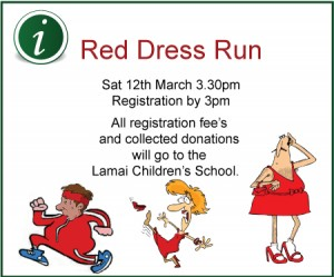 red dress run Samui Hash