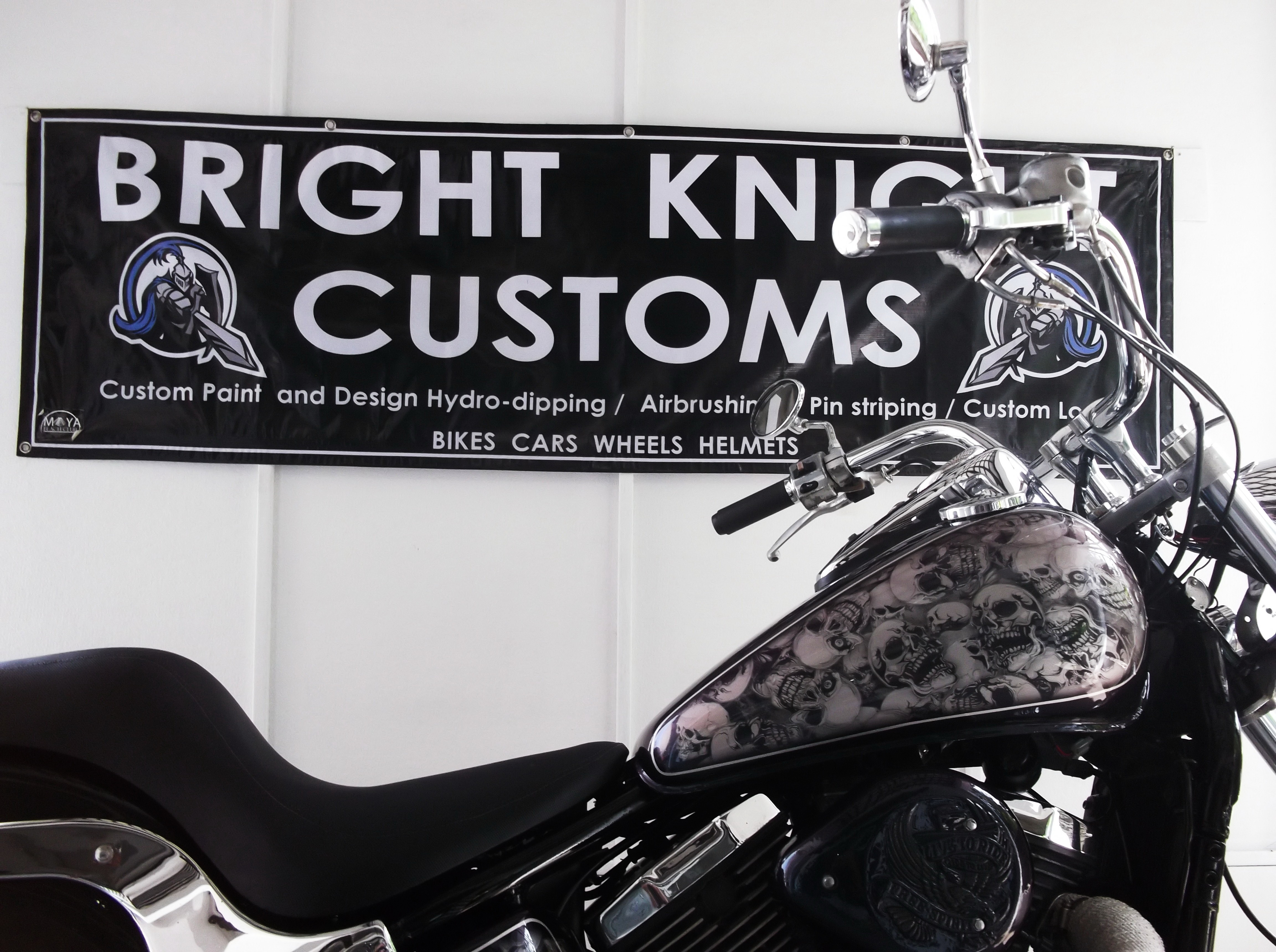 Bright Knight Customs showcase two of their latest projects | Samui Times