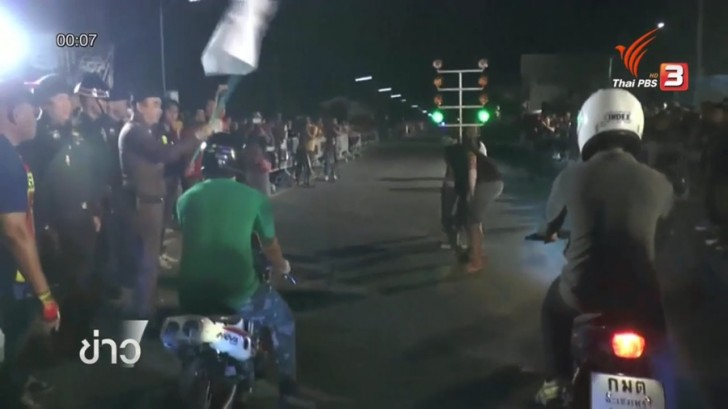 500 cyclists join motorbike race held in Chachoengsao to discourage street racing | Samui Times
