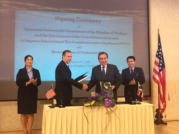 Thailand, US sign agreement to share tax information | Samui Times