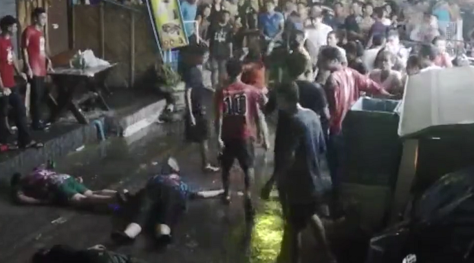 British family beaten up in Thailand