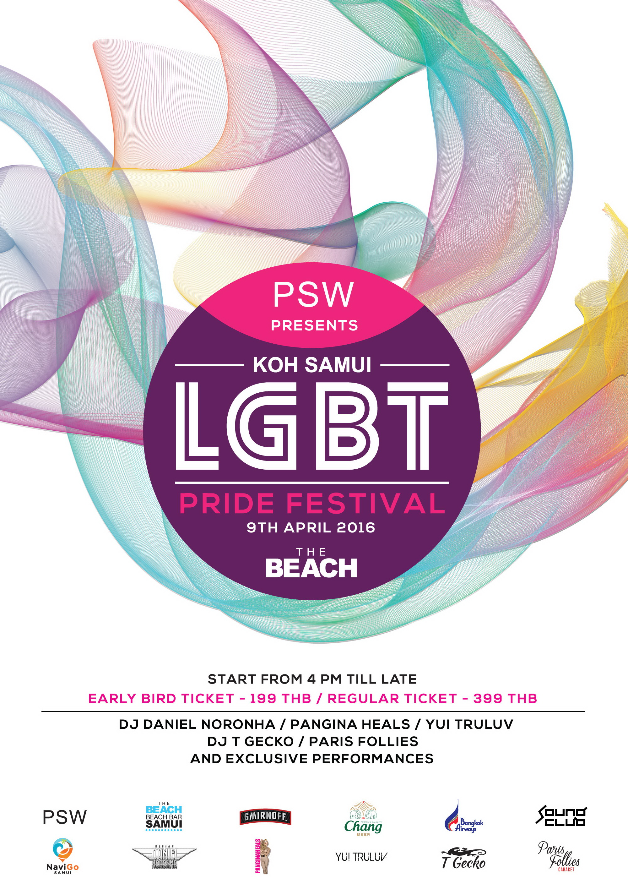 The Biggest LGBT Pride Festival on Koh Samui – tomorrow 9th April | Samui Times