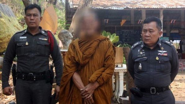 Fake monk with porno mag and orange car arrested | Samui Times