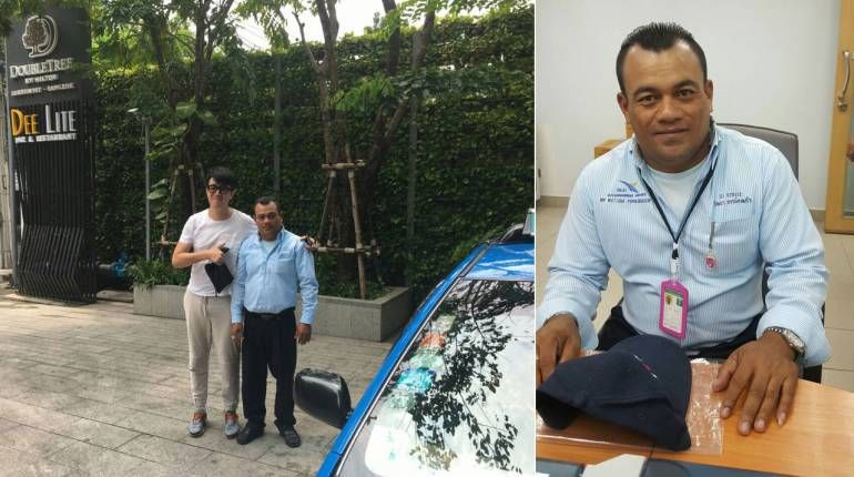 Suvarnabhumi taxi driver returns THB90,000 cash to Hong Kong man | Samui Times