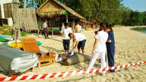 man found dead on the beach koh samui