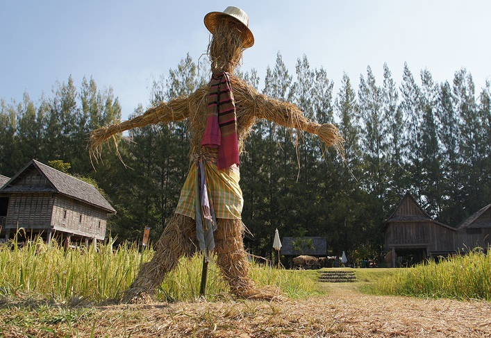 Scarecrow making contest held in Chiang Rai | Samui Times