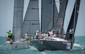 EFG Mandrake III's 2,2 scoreline today move them up the IRC One standings. Photo by Joyce Ravara
