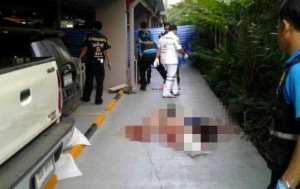 chinese woman falls to her death in Bangkok