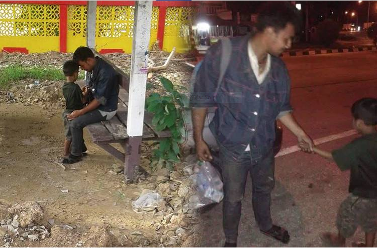 If you see this luckless dad and his son – give them a helping hand | Samui Times