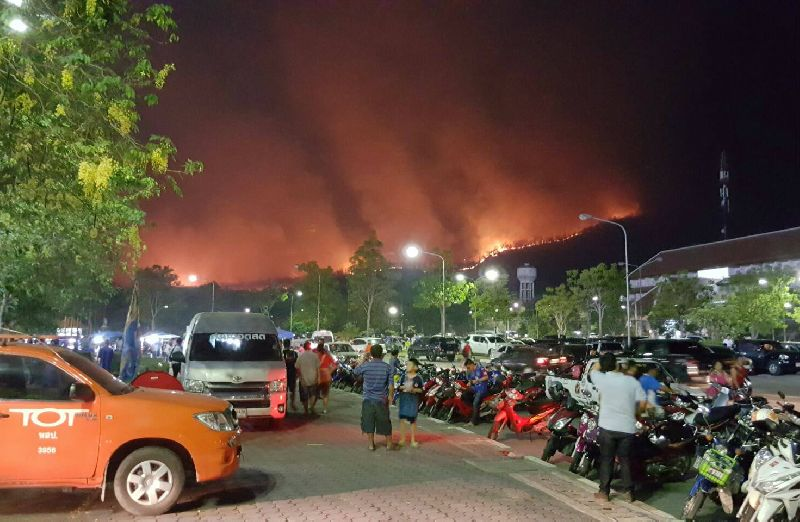 Massive Chiang Mai Fire Likely Caused by Humans | Samui Times