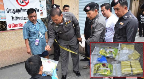 Monks discover big drugs haul in temple after night-time shoot-out | Samui Times