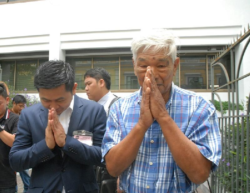 Elderly Man Gets Suspended Sentence for Giving Flowers | Samui Times