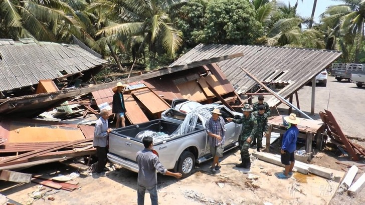 Summer storms damage over 10,000 homes | Samui Times